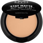 NYX PROFESSIONAL MAKEUP Stay Matte Not Flat Powder Foundation Tan