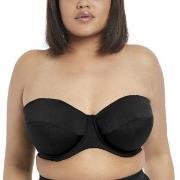 Elomi Swim Essentials Bandeau Bikini Top Svart H 100 Dam