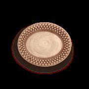 Bubbles Tallrik oval Cinnamon 20 cm