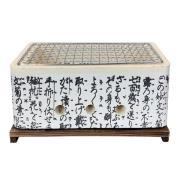 Satake Hibachi bordsgrill Rektangulär