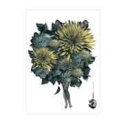 den kvittrande Våren affisch multi