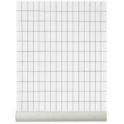 Grid tapet svart-vit svart-vit