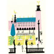 Stockholms stadshus affisch 50x70 cm