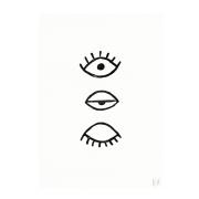 Eye Eye poster 50x70 cm