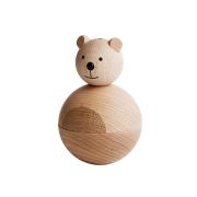 Bear träfigur bok-ek