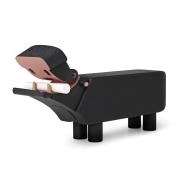 Kay Bojsesen flodhäst griffelfärg svart