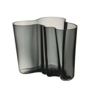 Alvar Aalto vas mörkgrå 160 mm