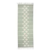 Bloomingville bomullsmatta 70x200 cm grön
