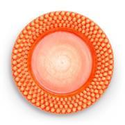Bubbles Tallrik 28 cm, Orange