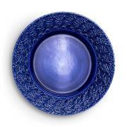 Lace Tallrik 32 cm, Blå