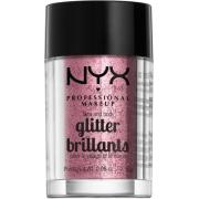 NYX PROFESSIONAL MAKEUP Face & Body Glitter - Rose