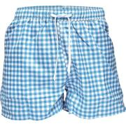 Resteröds Swimwear Blue/White squers M