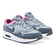 NIKE Blue and Pink Nike Air Max Sneakers 31.5 (UK 13)