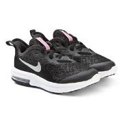 NIKE Black Nike Air Max Sequent 4 Sneakers 31.5 (UK 13)