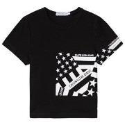 Calvin Klein Jeans Flag T-Shirt Svart 4 years
