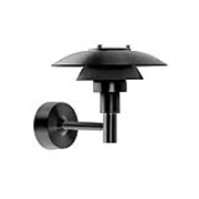 PH 3-2½ Vägglampa, svart