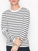 Selected Homme Slhsailor Crew Neck W Noos Tröjor Offwhite
