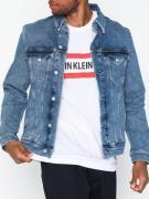 Calvin Klein Jeans Foundation Slim Denim Jacket Jackor Denim Blå