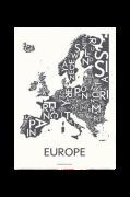 Poster Europé 50x70 cm
