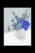 Poster Blue Bouquet
